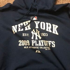 MLB Sweaters - New York Yankees MLB Official Playoff Hoodie b188975f26e